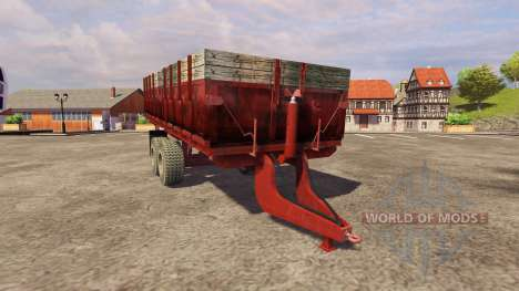 Trailer PTS-9 1990 for Farming Simulator 2013