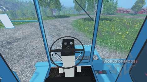 Sugar beet harvester KS-6B clean for Farming Simulator 2015