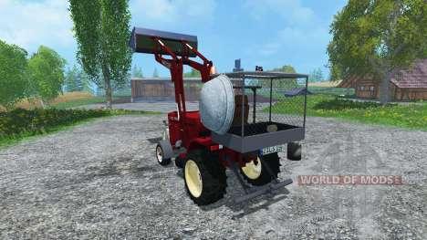 Hoftraktor HT13E FL clean for Farming Simulator 2015