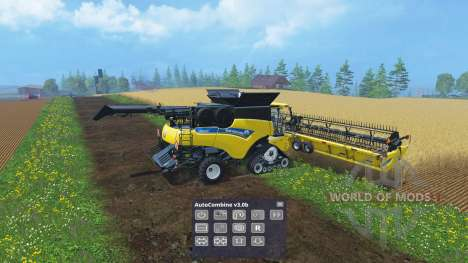 Assistant combiner for Farming Simulator 2015