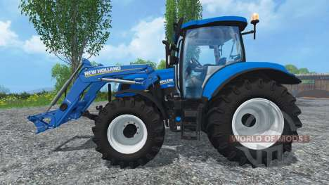New Holland T6.160 Ohne Glanz for Farming Simulator 2015