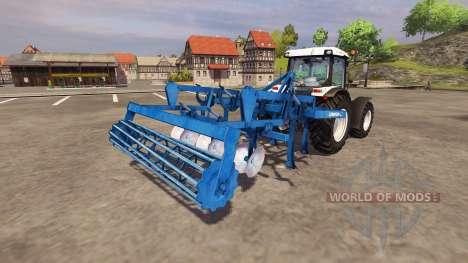 Cultivator Lemken Smaragd 7-300 1991 v2.2 for Farming Simulator 2013