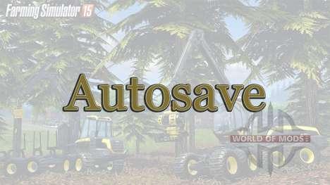 AutoSave for Farming Simulator 2015