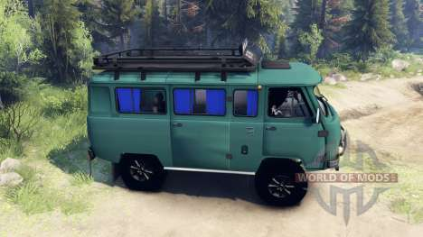 UAZ-3309 for Spin Tires
