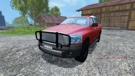 Dodge Ram Service for Farming Simulator 2015