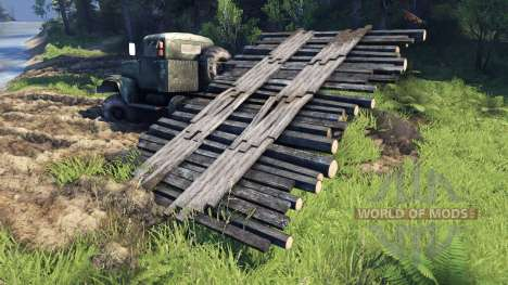 Mobile bridge for Spin Tires