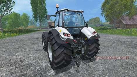 Lamborghini Mach VRT 230 increased tires for Farming Simulator 2015
