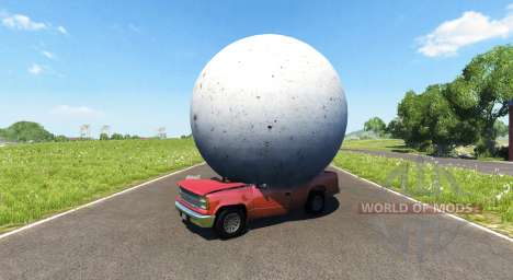 A stone bowl for BeamNG Drive