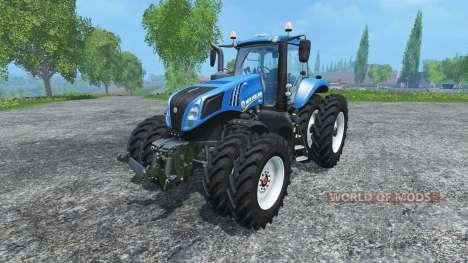 New Holland T8.320 dualrow for Farming Simulator 2015