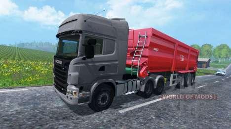 Scania R730 2011 for Farming Simulator 2015