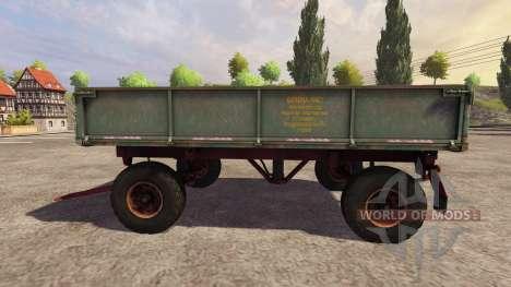 Trailer 2PTS-4 2009 v2.0 for Farming Simulator 2013
