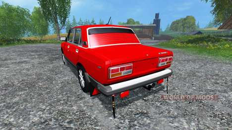 VAZ-2107 v2.0 for Farming Simulator 2015