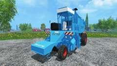 Sugar beet harvester KS-6B clean