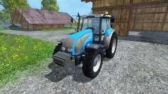 Valtra T140 Blue for Farming Simulator 2015