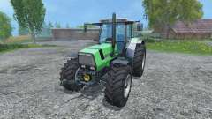 Deutz-Fahr AgroStar 6.61 Breitreifen for Farming Simulator 2015