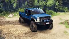 Ford F-350 Super Duty 6.8 2008 v0.1.0 blue for Spin Tires