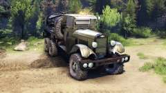 ZiS-5 upgraded for Spin Tires