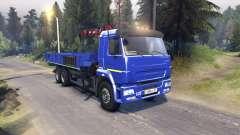 KamAZ-65117 v1.1 for Spin Tires