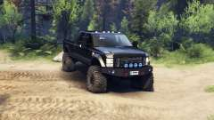Ford F-350 Super Duty 6.8 2008 v0.1.0 black for Spin Tires