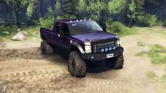 Ford F-350 Super Duty 6.8 2008 v0.1.0 purple for Spin Tires