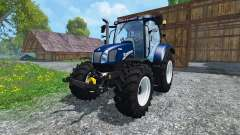 New Holland T6.160 Blue Power v1.1 for Farming Simulator 2015