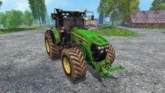 John Deere 7930 dirt for Farming Simulator 2015