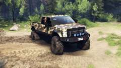 Ford F-350 Super Duty 6.8 2008 v0.1.0 ambush cam for Spin Tires