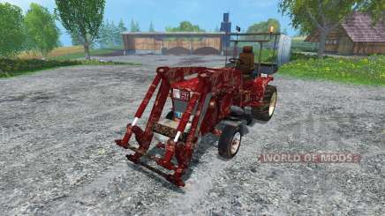 Hoftraktor HT13E FL dirt for Farming Simulator 2015