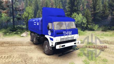 KamAZ-43101 THW for Spin Tires