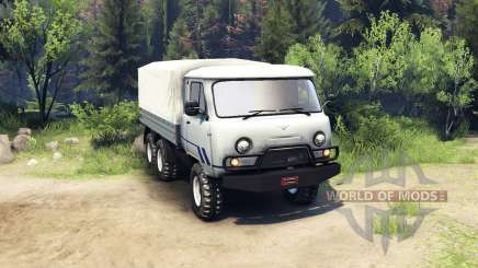 UAZ-3909 6x6 for Spin Tires