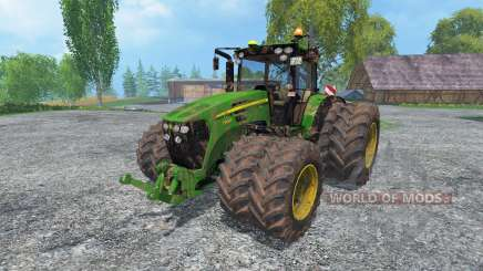 John Deere 7930 FL v2.0 dirt for Farming Simulator 2015
