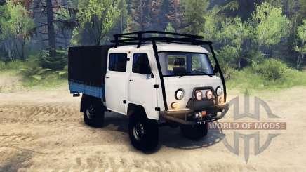 UAZ-390945 Farmer for Spin Tires