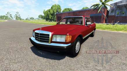 Mercedes-Benz W126 for BeamNG Drive