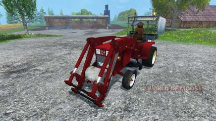 Hoftraktor HT13E FL clean for Farming Simulator 2015