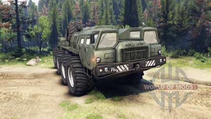 MAZ-7310 upgraded for Spin Tires