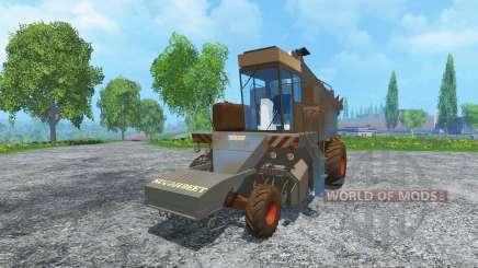 Sugar beet harvester KS-6B dirt for Farming Simulator 2015