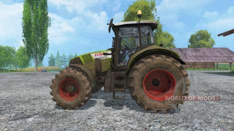 CLAAS Axion 820 v4.0 dirt for Farming Simulator 2015