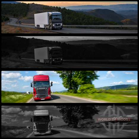 Boot screens v2 for Euro Truck Simulator 2