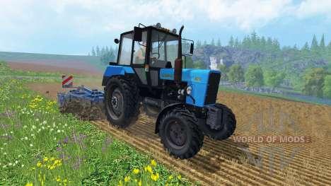 MTZ Belarus 82.1 for Farming Simulator 2015