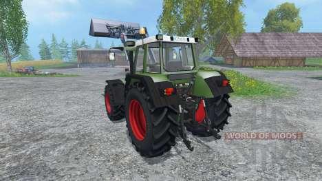 Fendt Favorit 515C FL for Farming Simulator 2015