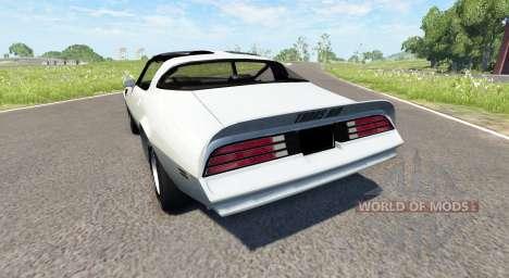 Pontiac Firebird Trans Am 1977 for BeamNG Drive