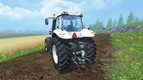 New Holland T8.435 Ultra White v1.31 for Farming Simulator 2015