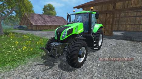 New Holland T8.435 Green Power Plus v1.2 for Farming Simulator 2015