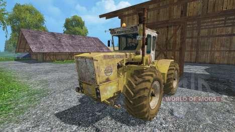 RABA Steiger 250 WSB dirt for Farming Simulator 2015