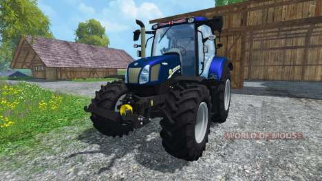 New Holland T6.160 Golden Jubilee v1.1 for Farming Simulator 2015