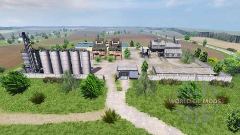 Map SEC Borki agro for Farming Simulator 2013