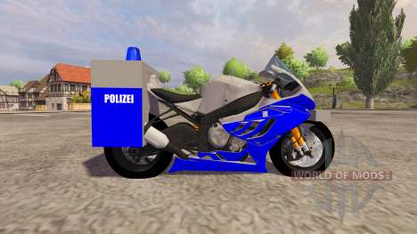 BMW Polizei for Farming Simulator 2013