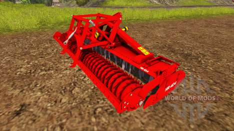 The combination with a planter cultivator for Farming Simulator 2013