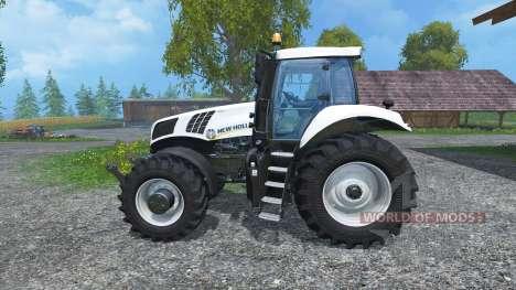 New Holland T8.435 Ultra White for Farming Simulator 2015