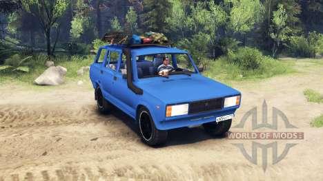 VAZ 2104 v2.0 for Spin Tires